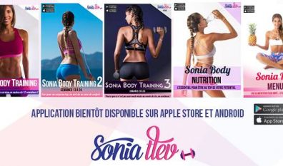Flash info : L'application Sonia Body Training est en ligne !