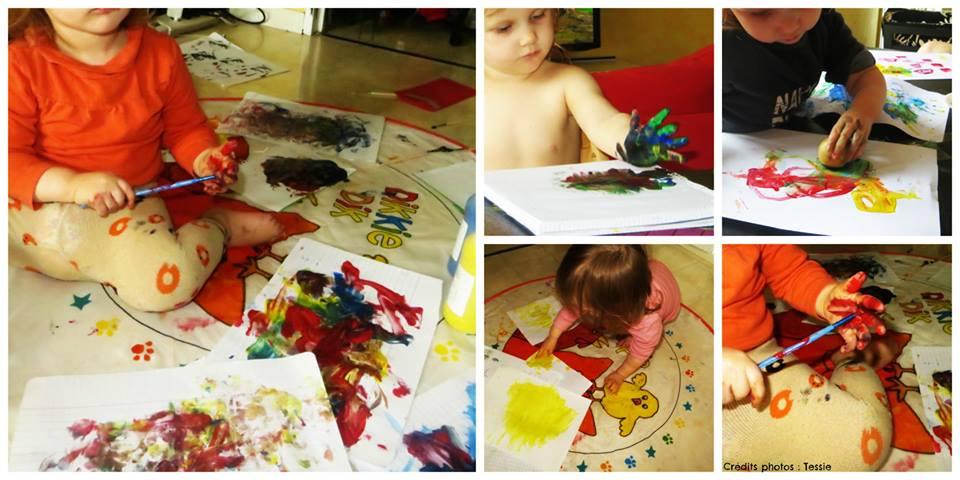 activit s pour enfants 18 24 mois 1 les activit s artistiques. Black Bedroom Furniture Sets. Home Design Ideas