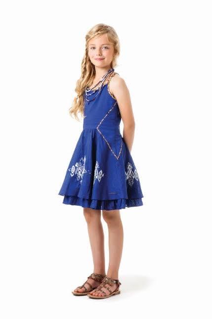 robe-bleue-catimini