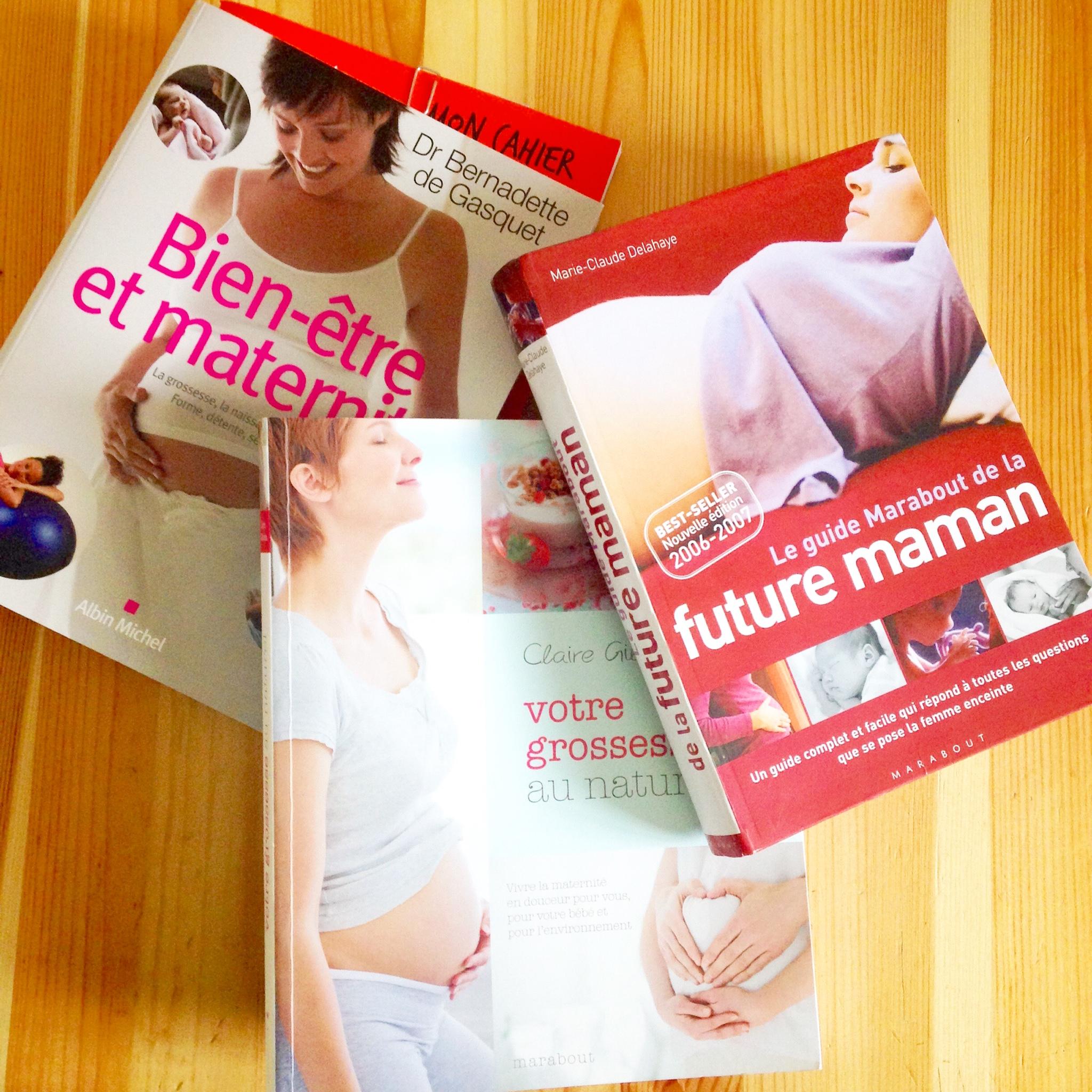 Top 5 des livres de grossesse