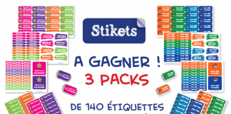 Concours PACKS stikets