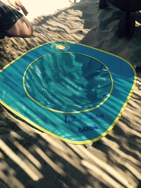piscine de plage installation 2