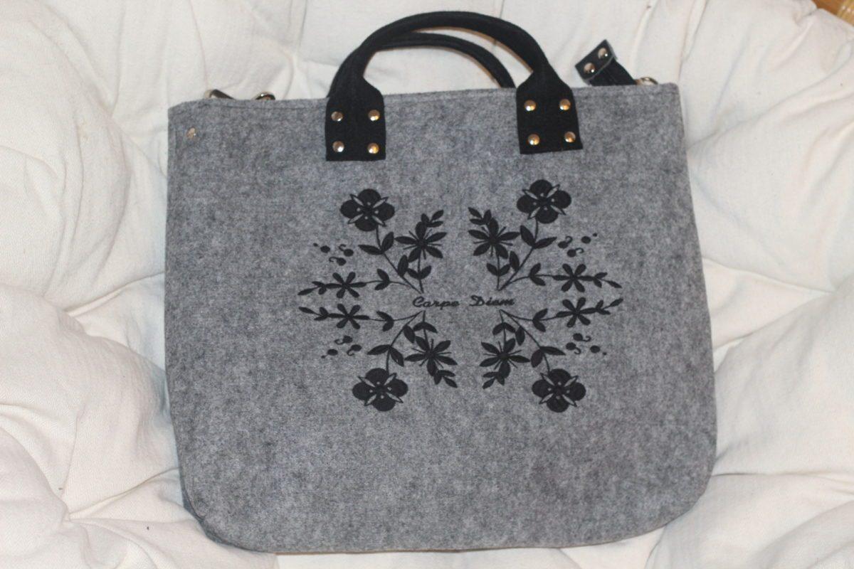 sac en feutre handmade