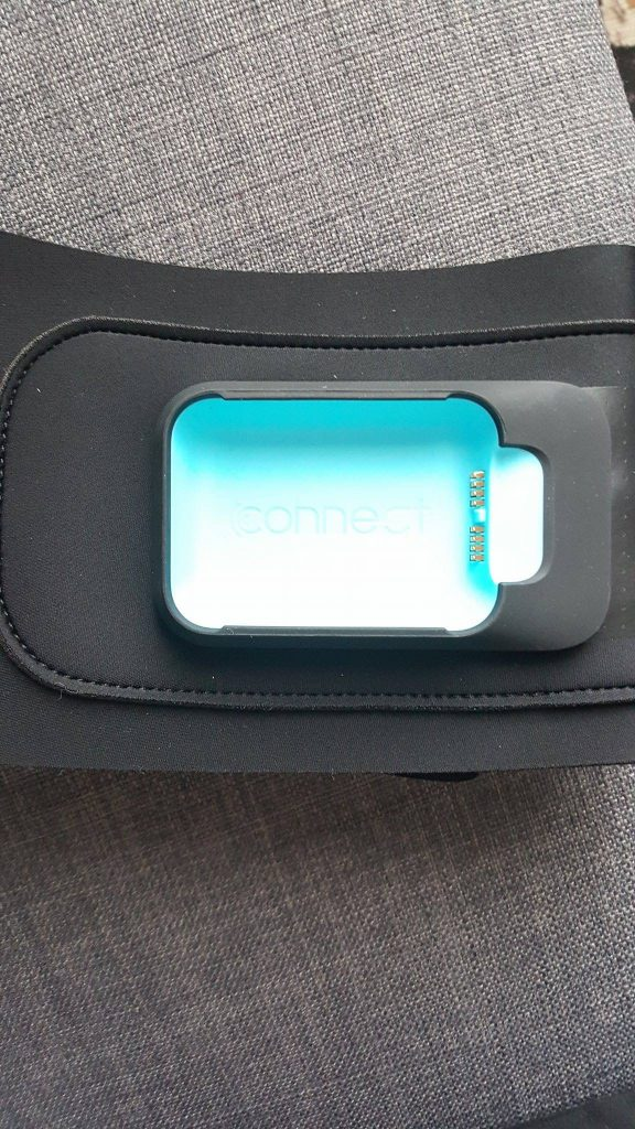 clendertone connect ceinture
