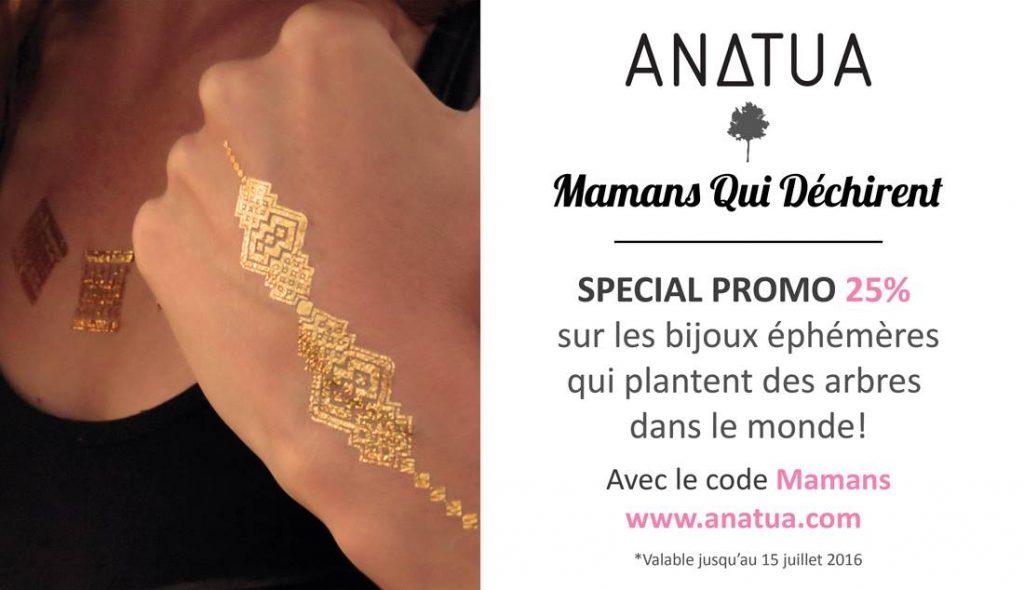 anatua code promo