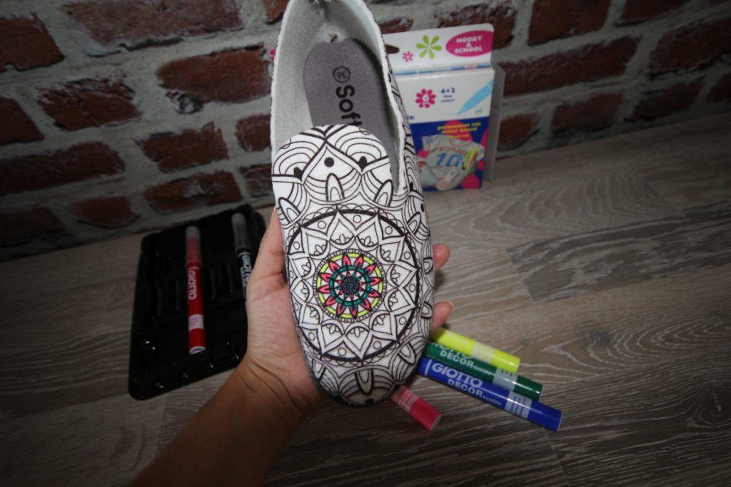 softin chaussons à colorier -