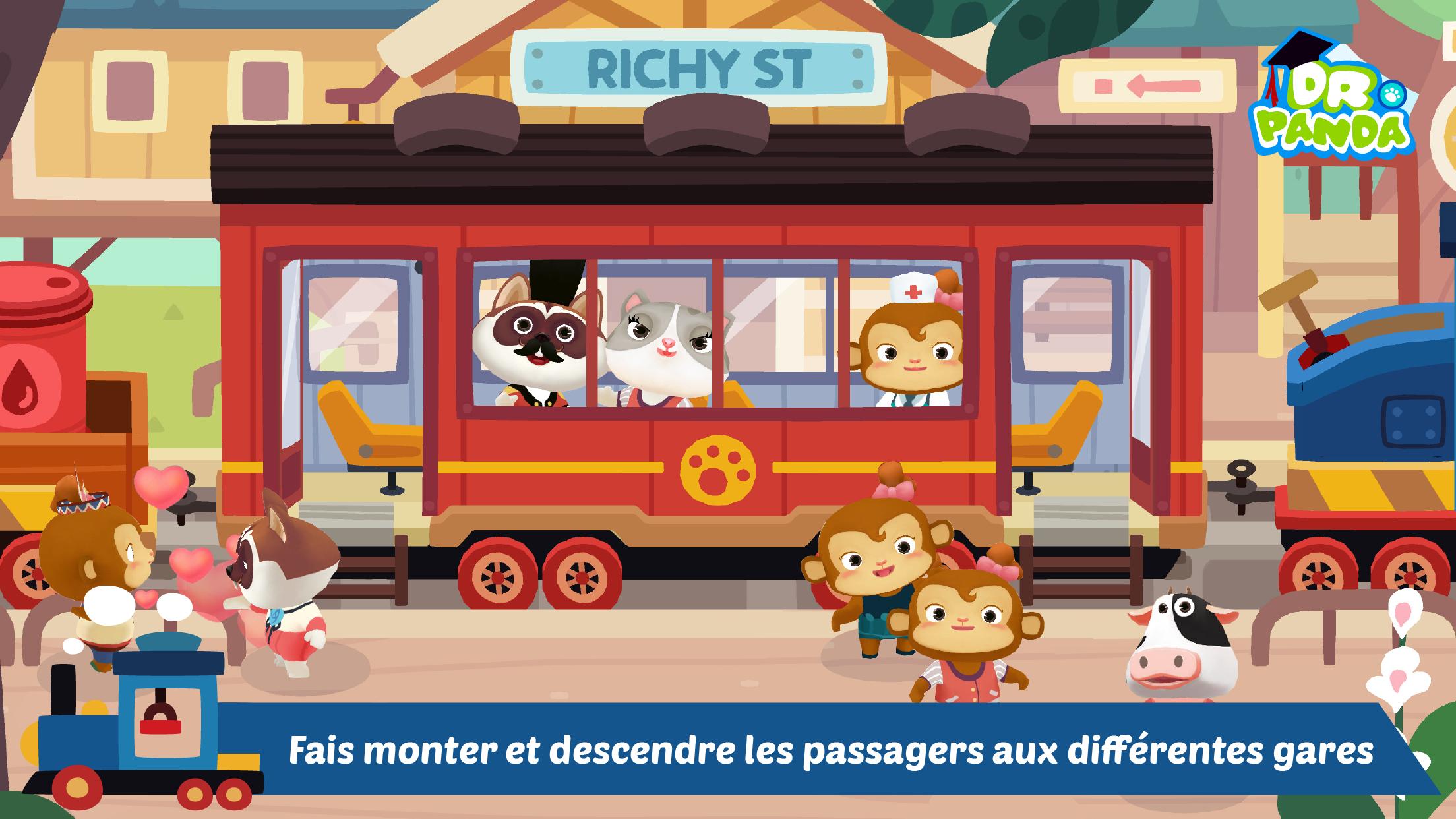 dr panda train 2