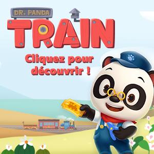 dr panda train