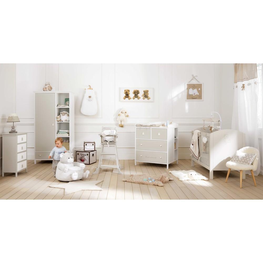 chambre de bébé rangements