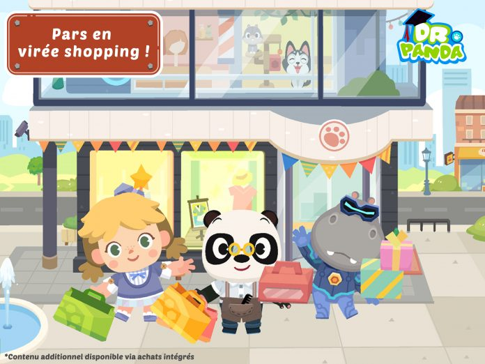DR PANDA VILLE SHOPPING