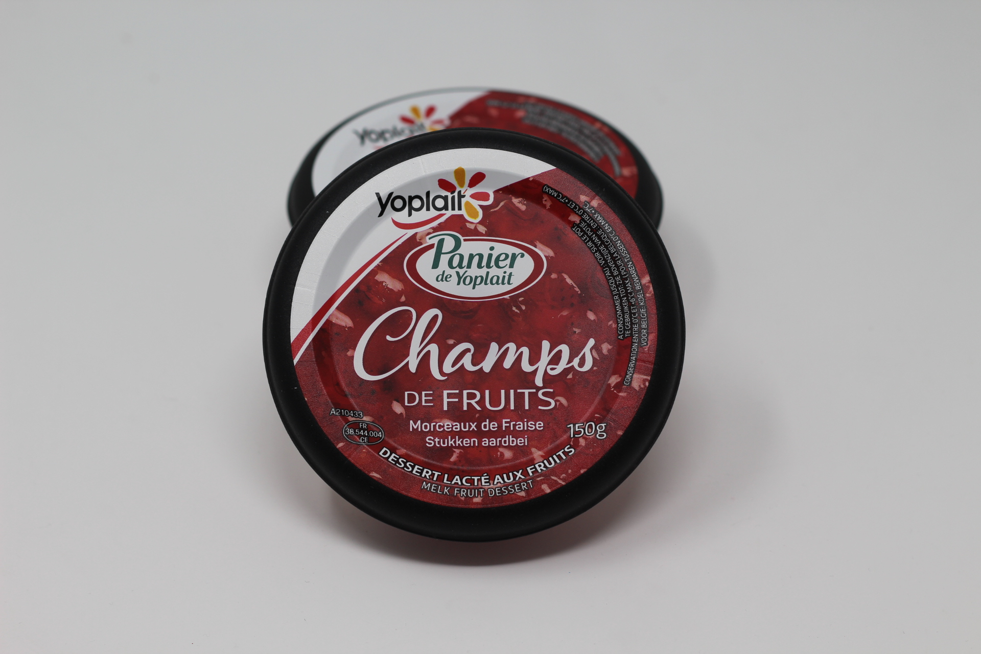 champ de fruits yoplait