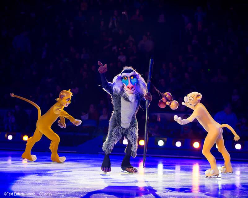 disney sur glace le Roi Lion