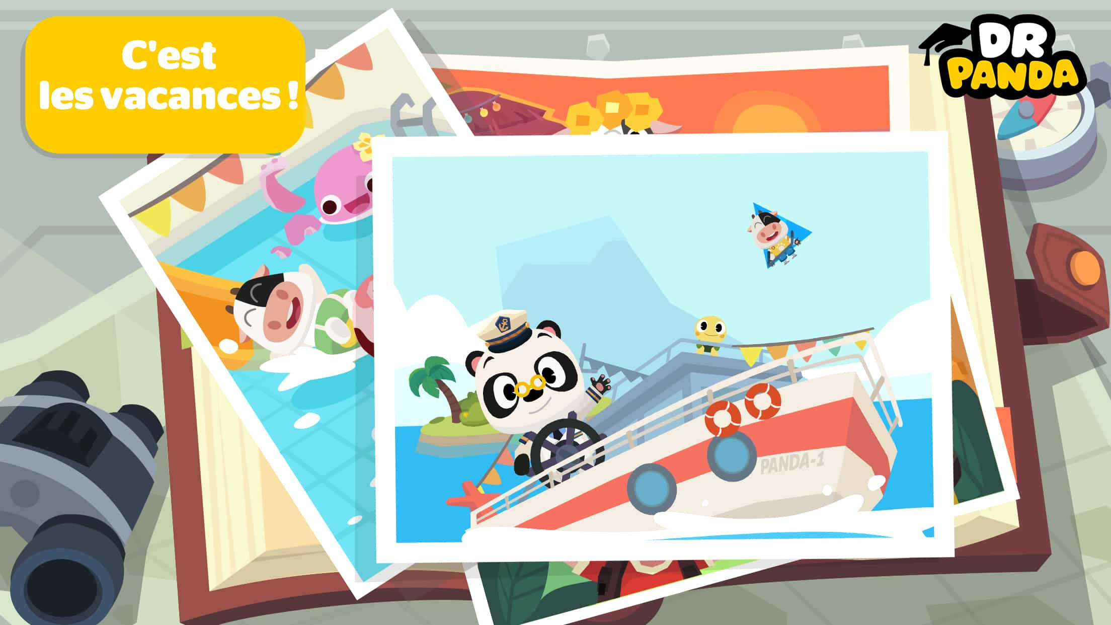 Dr panda ville vacances