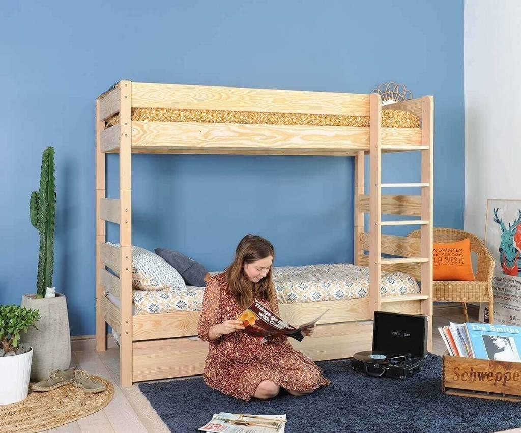 chambre enfant lit superposé