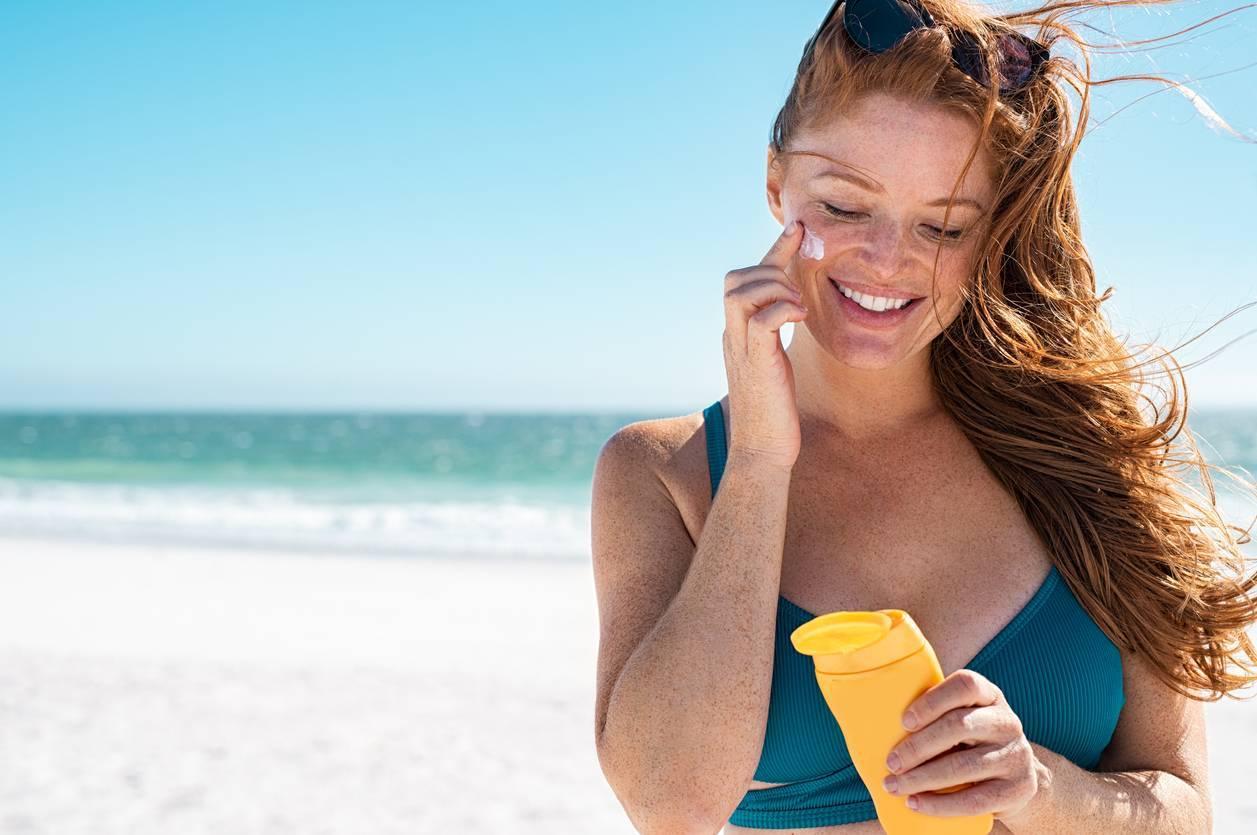 exposition soleil peau crème solaire