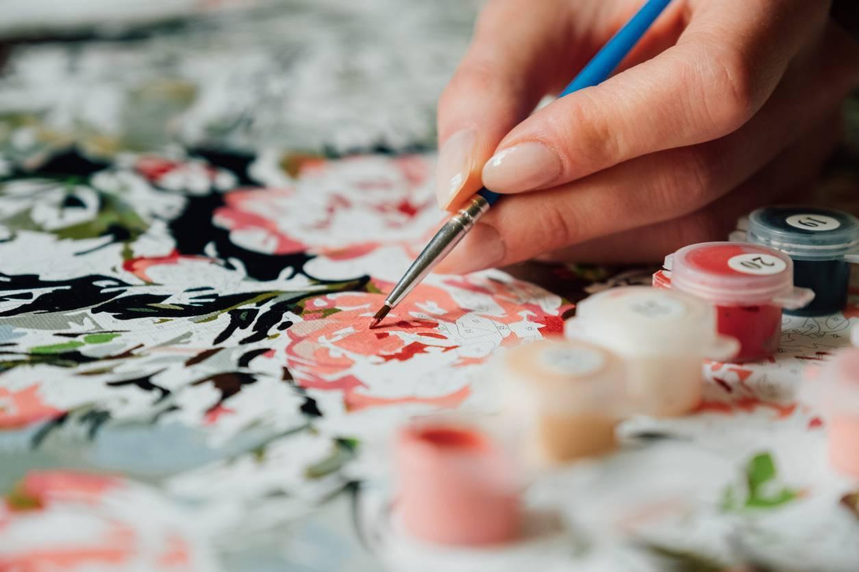 peinture par numéros activité créative
