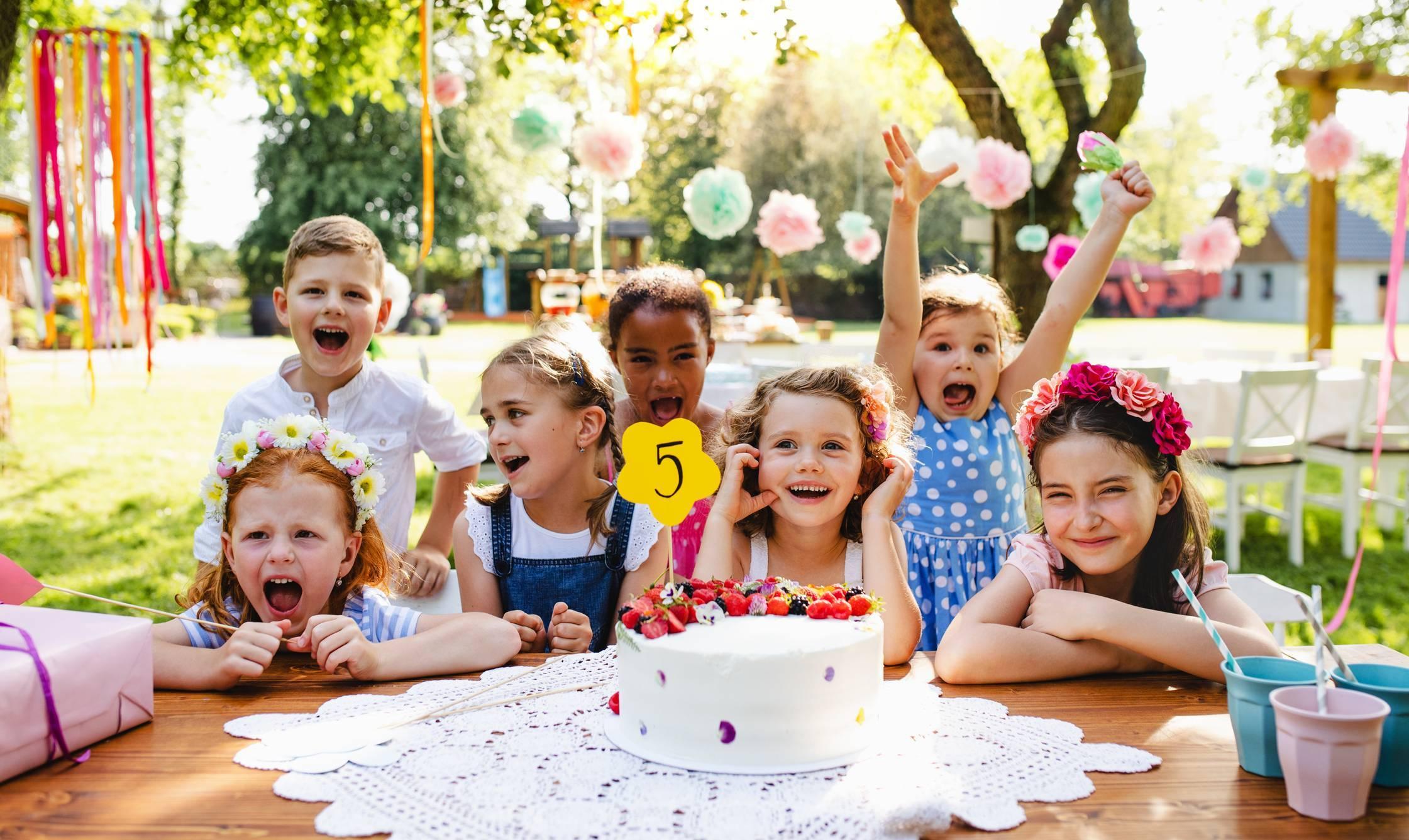 anniversaire enfants gâteau