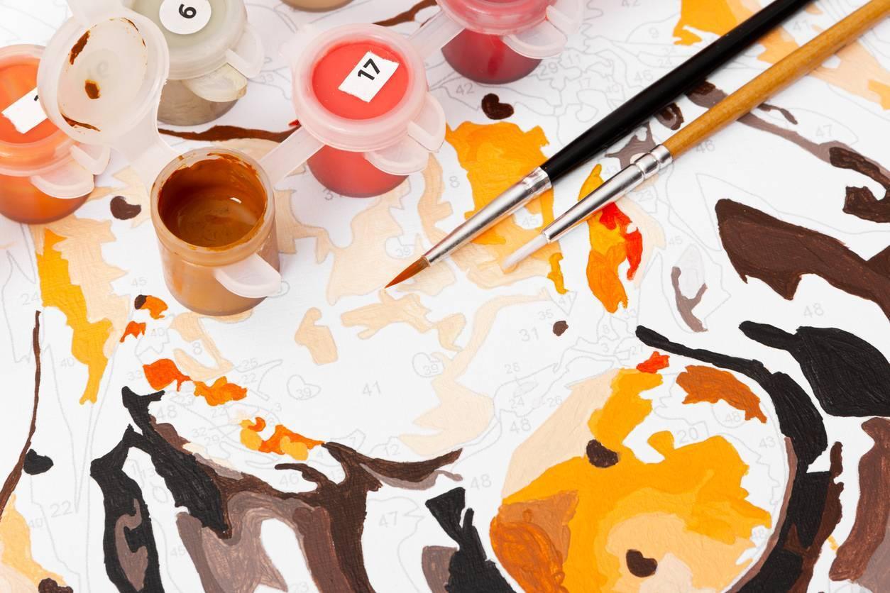 Peinture par numéro : comment ça marche ?