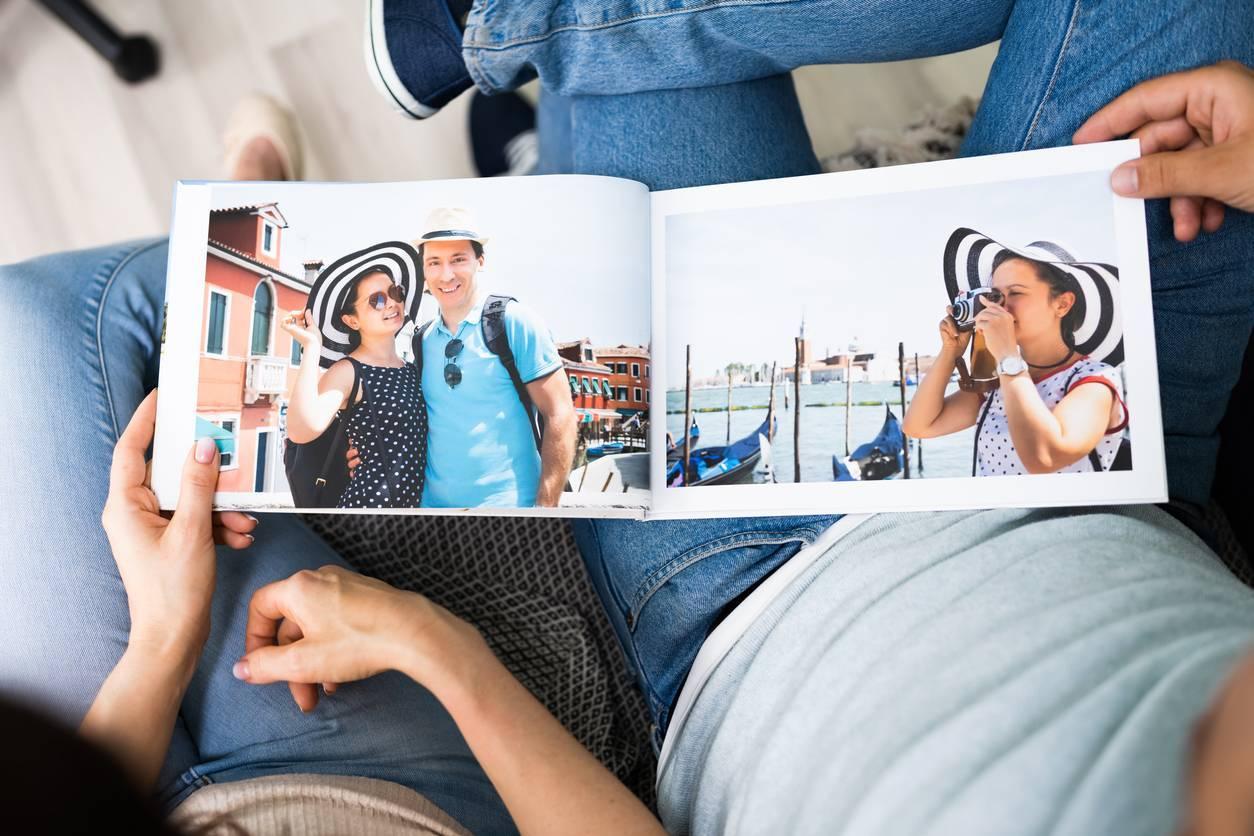 faire un album photo de famille