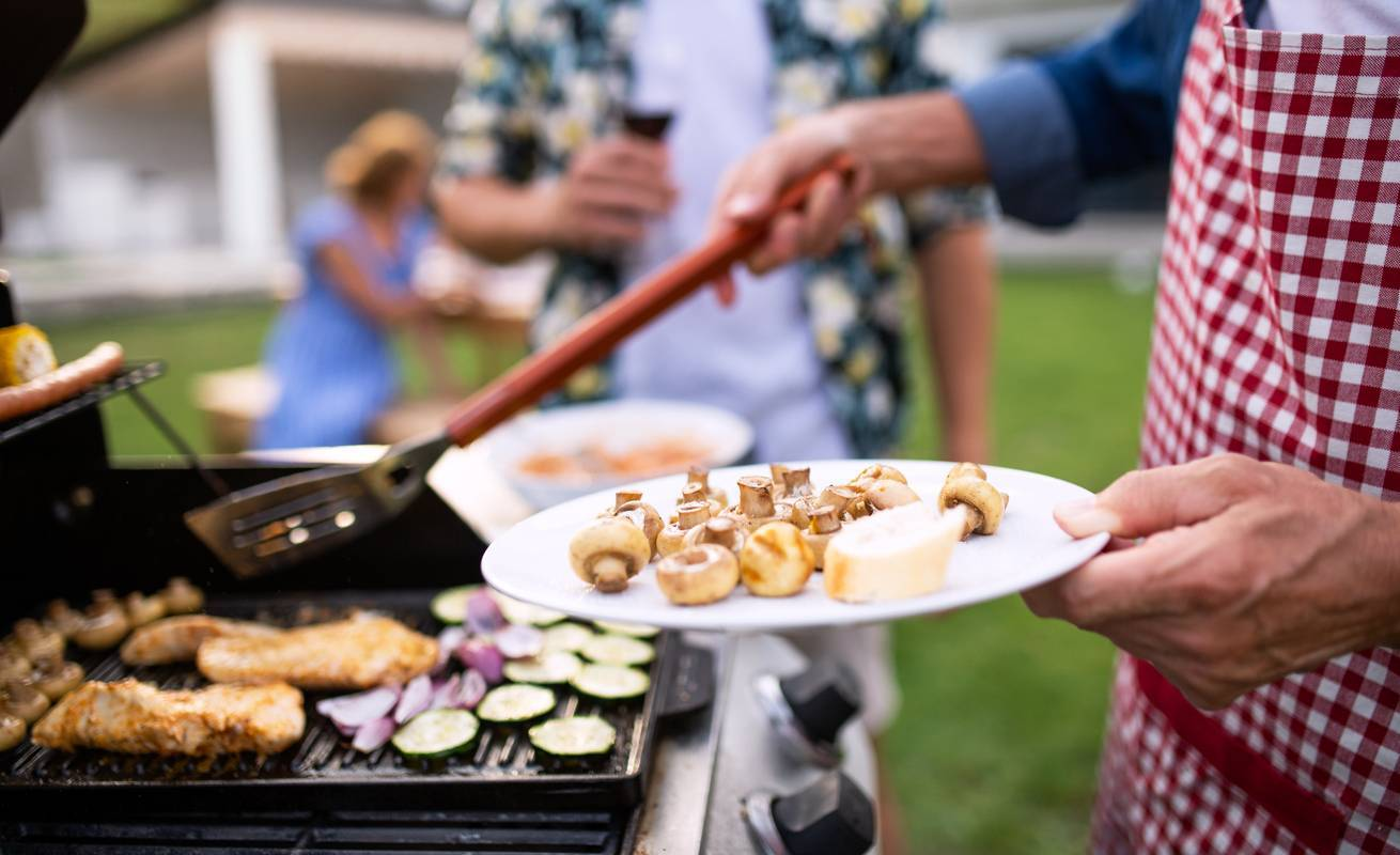 un barbecue réussi en famille