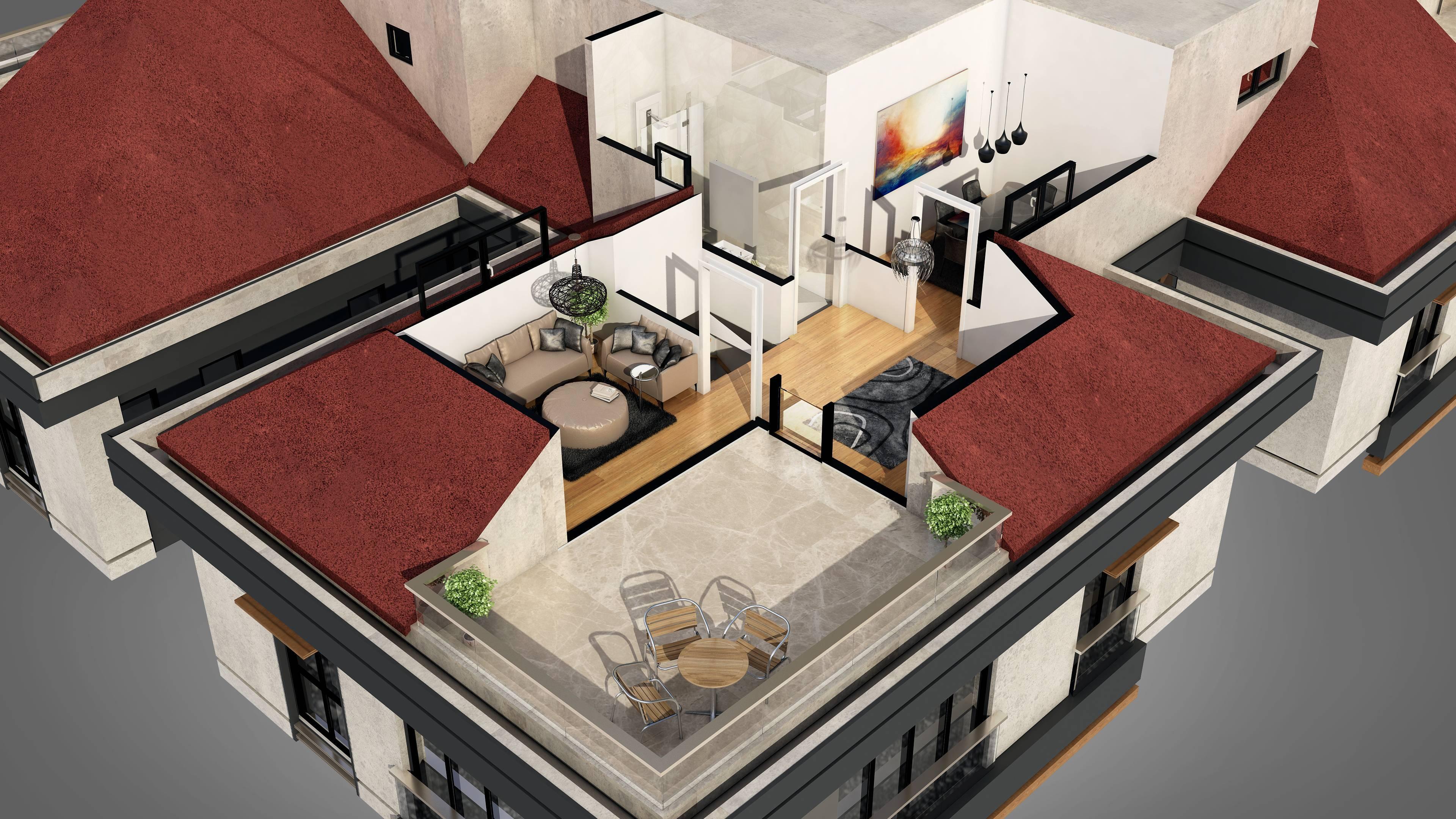 conception virtuelle maison