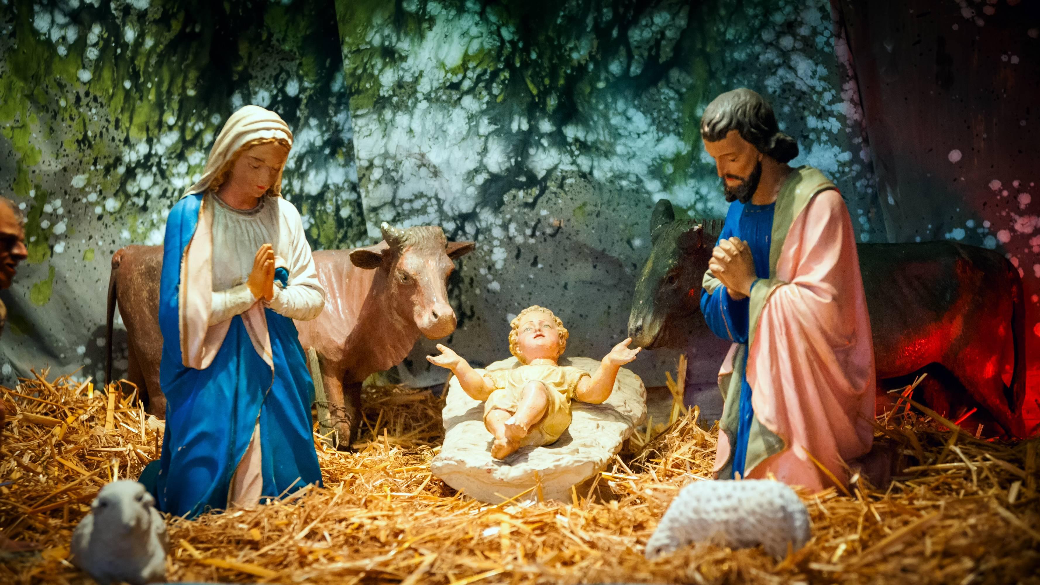 offrir un objet religieux à Noël