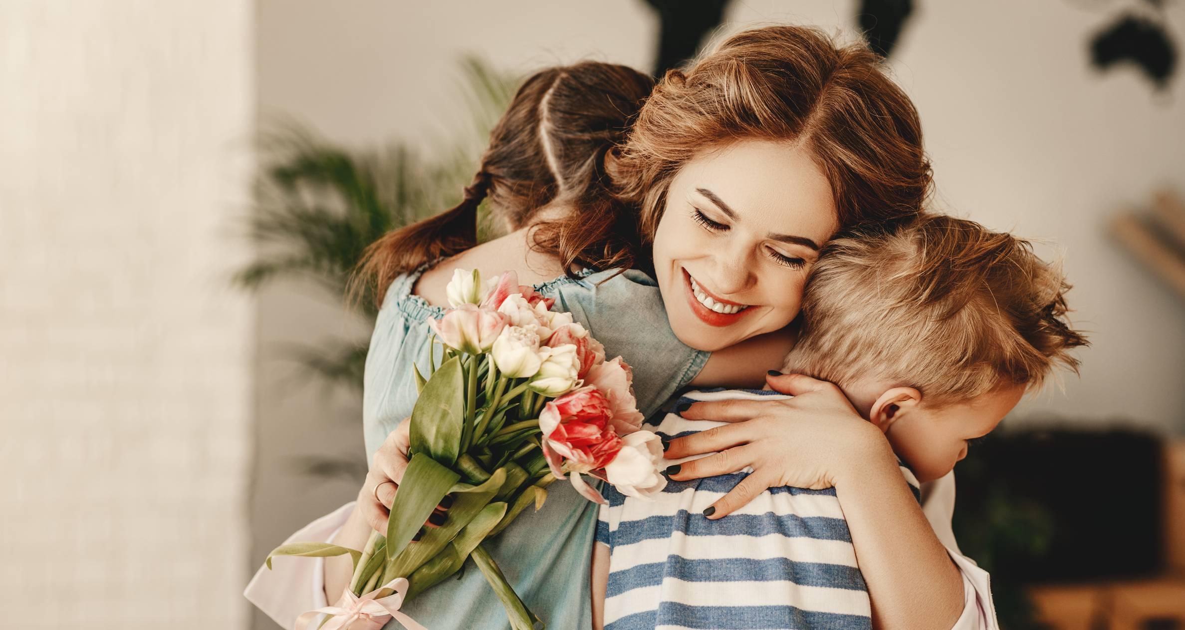 offrir des fleurs à sa maman