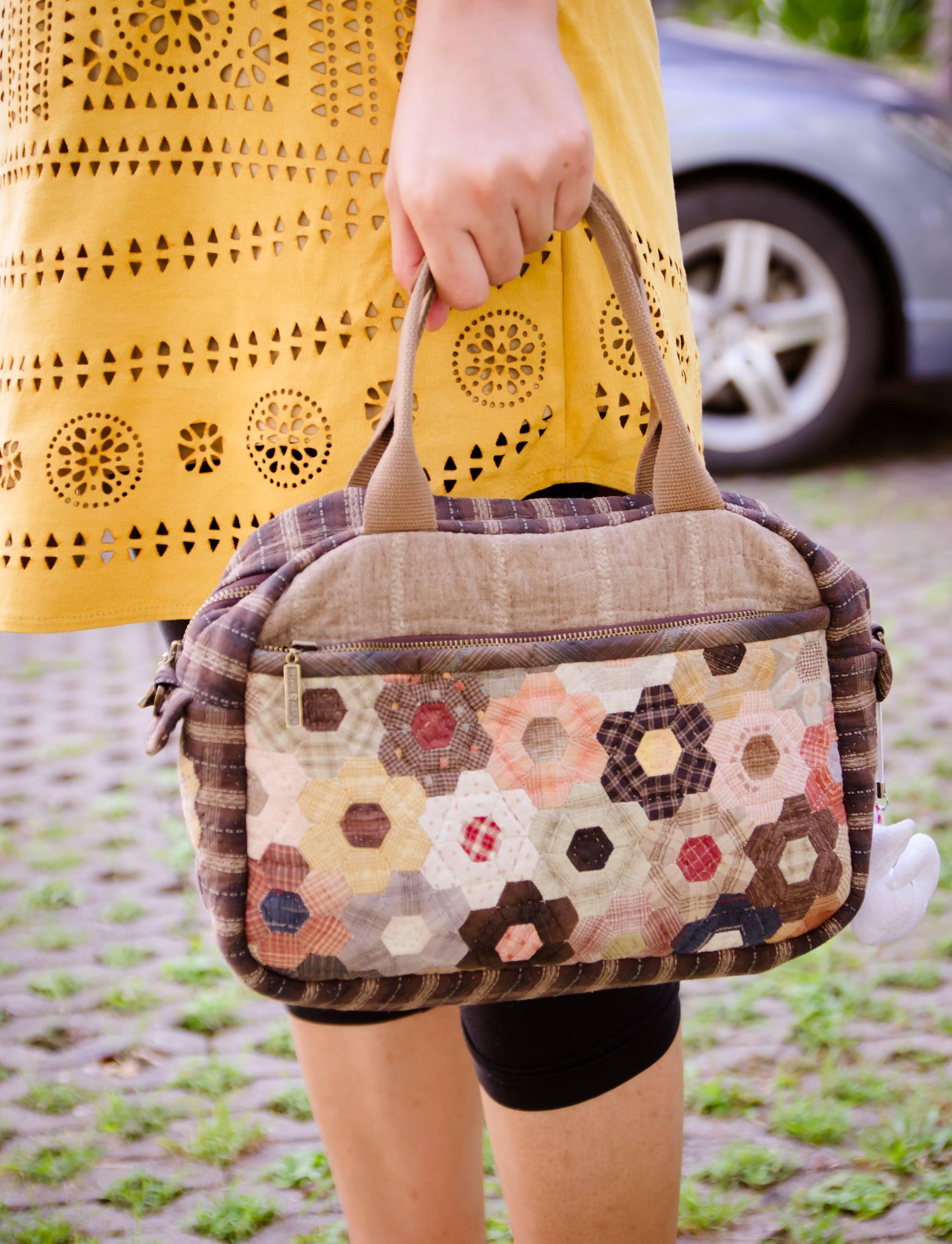 sac à main patchwork tenue